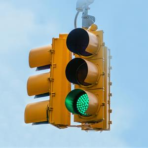 Image of traffic lights