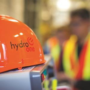 Image of a Hydro One hard hat
