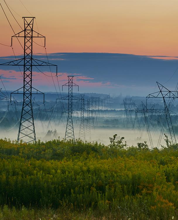 Photo of Hydro One-owned transmission lines