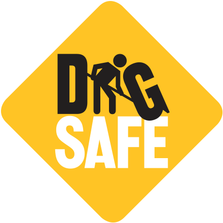 illustration: Dig Safe Logo
