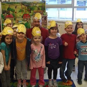 Clemsford Students learn about electrical safety