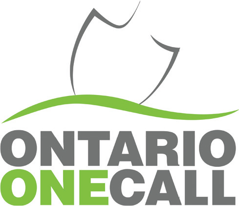 Illustration of the ontario one call logo