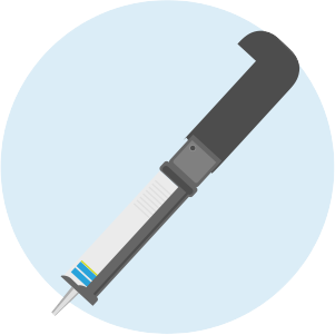 Caulking gun icon