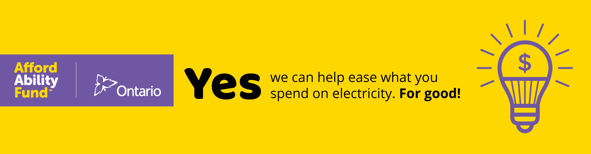 Affordability Fund Header Yes We Can Help Ease What You Spend On Electricity For